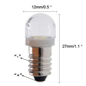 Image 3 - Пара светодиодных ламп E10 1447, 3 в, 6 в, светодиодный фонарь на замену, 3 в, 6 в, ксеноновая лампа белого цвета