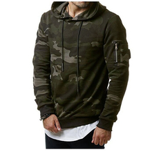ZOGAA Mens Fashion Hooded Army Camouflage MilitaryUniform Hoodie Coat 2018 New Coming