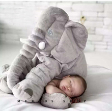 Infant Soft Appease Elephant Playmate Calm Doll Baby Toys animal Elephant Pillow Plush Toys Stuffed Doll 53*45*23 brinquedos