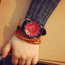 Relogio Feminino 2017 Fashion JIS Brand casual Wrist Watch Women Big Dial LED Backlight leather Sport Watch for Men Unisex clock