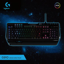 100% Logitech G910 Kabel Gaming Mekanis Programmable Keyboard dengan RGB Backlight Keyboard Mekanik Teclado Gamer 19Jul09(China)
