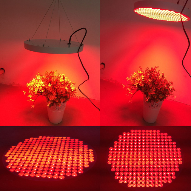 All Red 630 660nm Supplemental 50w Led Grow Light Indoor Panel For Hydro Flowering