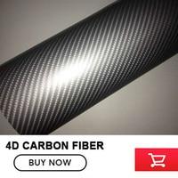 Coche de La Motocicleta Sticker Car Styling 4D Carbon Fiber Vinilo Wrapping Film Auto Accesorios Del Coche del abrigo del vinilo de la Burbuja de Aire Libre negro