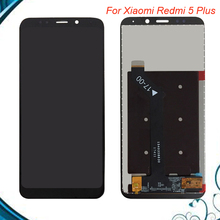 5.99inch For Xiaomi Redmi 5 Plus LCD Screen Tested LCD Display+Touch Screen Assembly Repair Part for Xiaomi Redmi 5 Plus цена