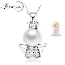 pendentif en argent 925 Réel Belle perle ...