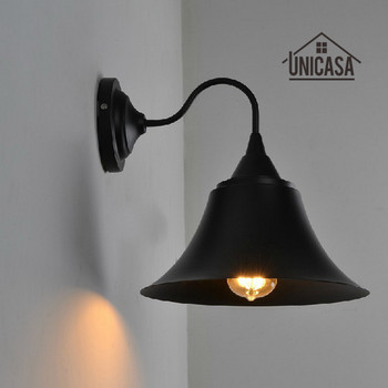Vintage Wrought Iron Indoor Wall Lights Kitchen Bar Bathroom Antique Wall Sconce Industrial Chandelier Lighting Modern LED Lamp