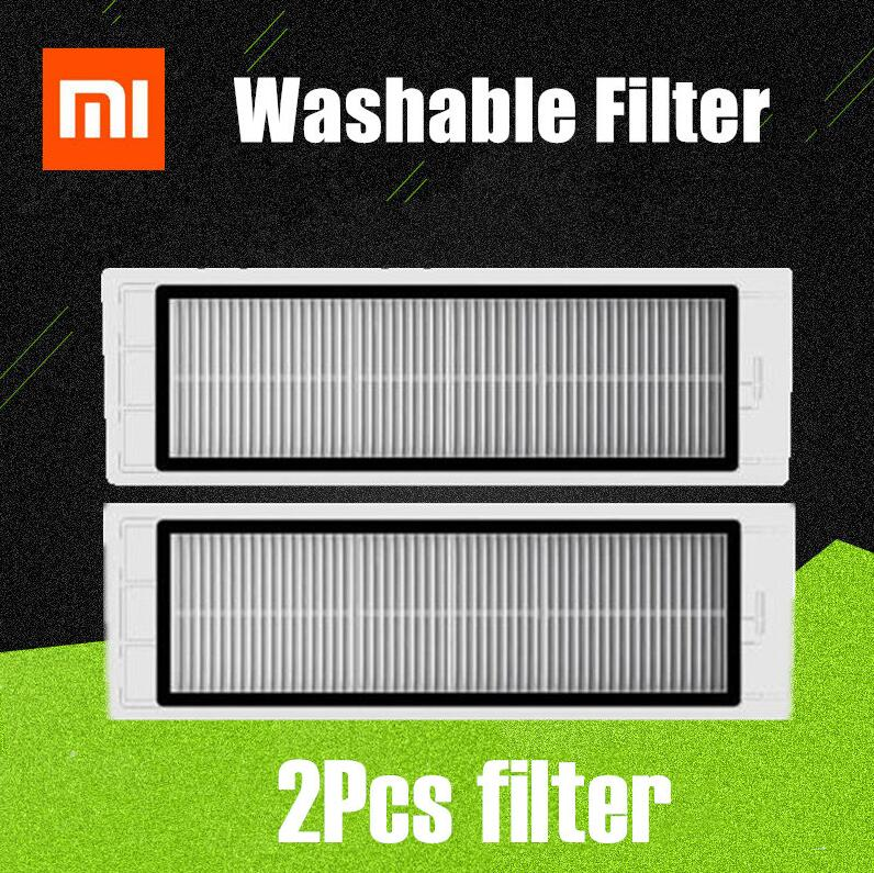 2pcs New Improved Version Washable Hepa Filter For Xiaomi Mi Robot Roborock S50 S51 T60 T61 T65 Parts