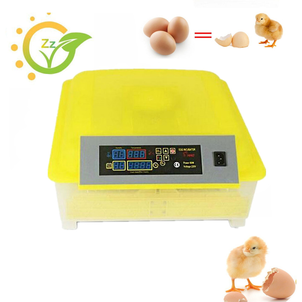 48 Chicken Egg Incubator Digital Clear Egg Turning