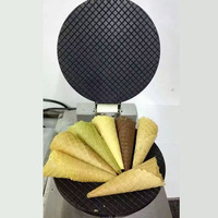 Single head baker machine dryer crispy cone ice cream maker Palacinka Baker waffle cone