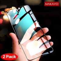 2 Packs For Xiaomi Redmi Note 8 Tempered Glass 9H Explosion-proof Screen Protector Film For Xiaomi Redmi Note 8 Pro Note8 Glass