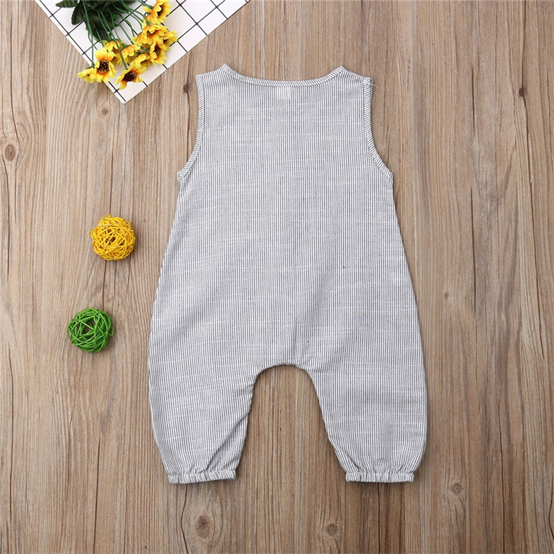 HTB1rQdhTbPpK1RjSZFFq6y5PpXa8 PUDCOCO Cute Kids Newborn Baby Boy Girl Cotton Linen Romper Solid Sleeveless Striped Jumpsuit Outfit Summer Casual Clothes 0-24M