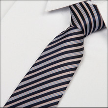 2014 new arrival gentlemen neckties fashion casual grey with pink striped ribbon tie 8 cm gravata -grey(China)