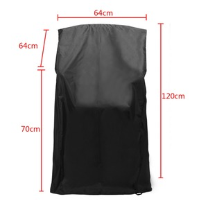 1pcs Heavy Duty Waterproof Chair Cover Dustproof Rain Cover For Outdoor Garden Patio Furniture Protector 64x64x120/70cm