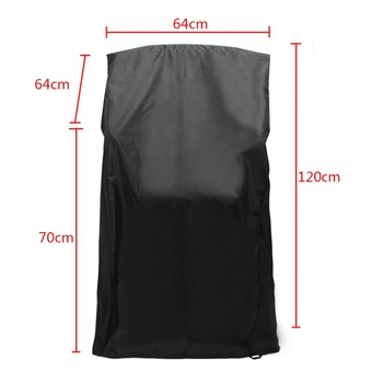 1pcs Heavy Duty Waterproof Chair Cover Dustproof Rain Cover For Outdoor Garden Patio Furniture Protector 64x64x120