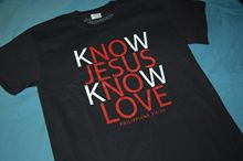 CEA Jesus Christ TShirt, KnoW JESUS LOVE Know Him NOTW Christian  LOOK! Free shipping Tops Fashion Classic Unique gift