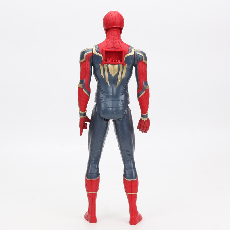 30cm Iron Spider Pvc Action Figure Titan Hero Series Marvel Toys The Avengers Figures Ironman Super Hero Collection Model Dolls #3