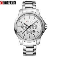 HOT CURREN Watches Men Quartz Top Brand Luxury Military Male Watches Men Sports Army Watch Waterproof