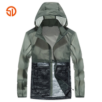 Fashion 2018 Spring Summer Style Outerwear Windbreaker Men Mens Thin Jackets And Coats Breathable Waterproof Sunscreen