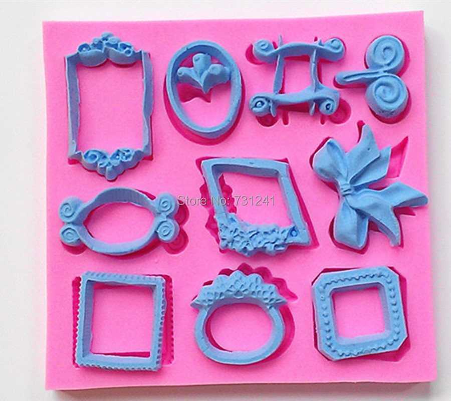 design  classic small picture frame bow ring shape