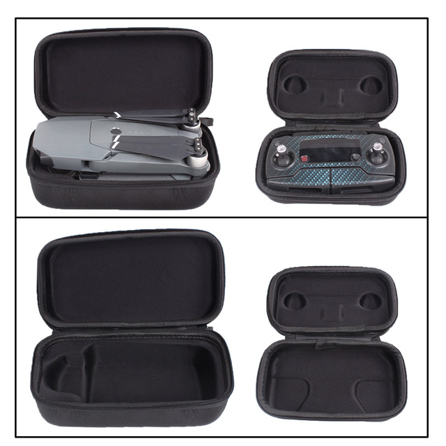 2Pcs Storage Bags Carrying Case Protection Box Hard Shell for DJI Mavic Pro Drone Fuselage and Remote Controller