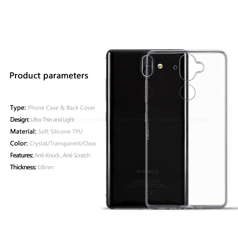fe4a0e99838 TPU Case For Nokia 1 2 3 5 6 7 8 Sirocco 3310 2017 X5 X6 X7 2018 8.1 7.1  6.1 5.1 3.1 2.1 Plus Clear Silicone Phone Back Cover