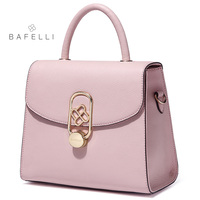 BAFELLI split leather box bag 4