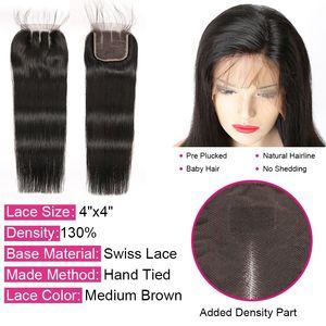 Image 3 - Alipop Haar Gerade Haar Bundles Mit Verschluss Peruanische Haar 3 Bundles Mit Verschluss Remy 100% Menschliches Haar Bundles Mit Verschluss