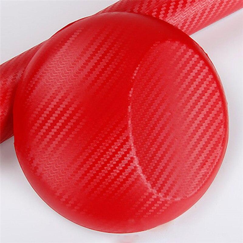 127cmx10/20 см 3D виниловая пленка из углеродного волокна для автомобиля, рулонная пленка, наклейка на машину, мотоцикл, наклейки для автомобиля, аксессуары для интерьера - Color Name: Dark Red