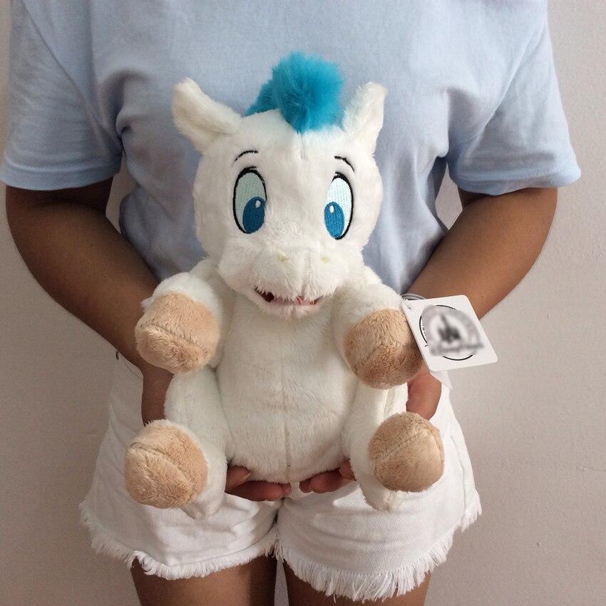 Free Shipping Sitting height 26cm 10 2 Original Hercules Baby Pegasus Plush Bean Bag Doll