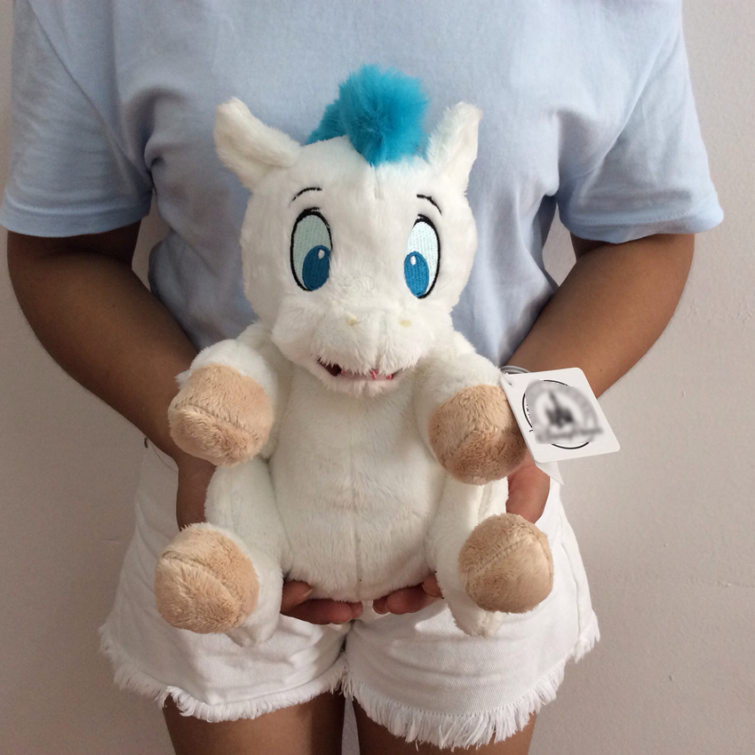 Free Shipping Sitting height 26cm 10.2 Original Hercules Baby Pegasus Plush Bean Bag Doll ...