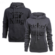 Hoodies King Sweatpants Lovers Printed Couples Pullovers Tracksuits Of With Hoodie Casual