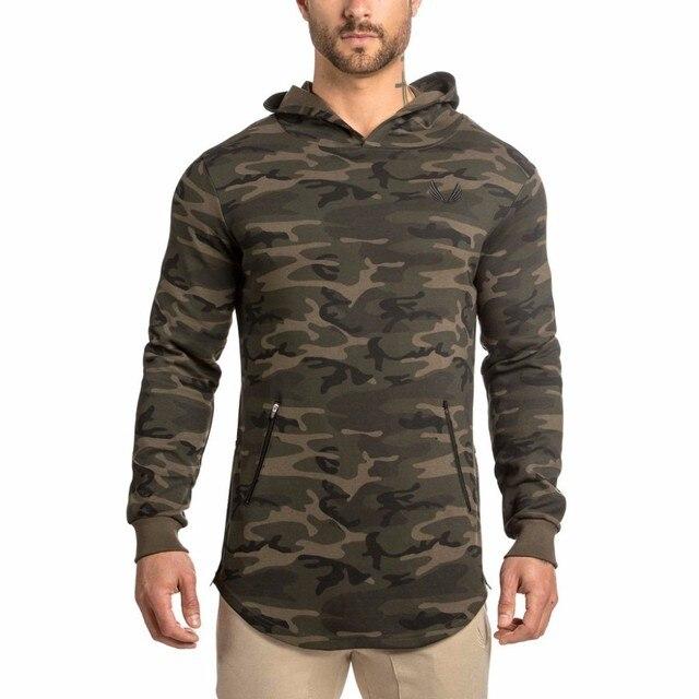 2016 Hot Sale Autumn Camouflage Hoodie Men Casual Hoody Sweatshirt MenFashion Brand Hoodie Jacket Man Pullovers Sportswear