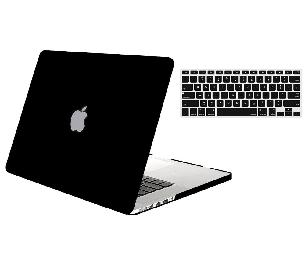 Mosiso Laptop Hard Cover Case for Macbook Pro 13 15 Retina 2013 2014 2015 model A1502 A1425 A1398 + Silicone keyboard Cover
