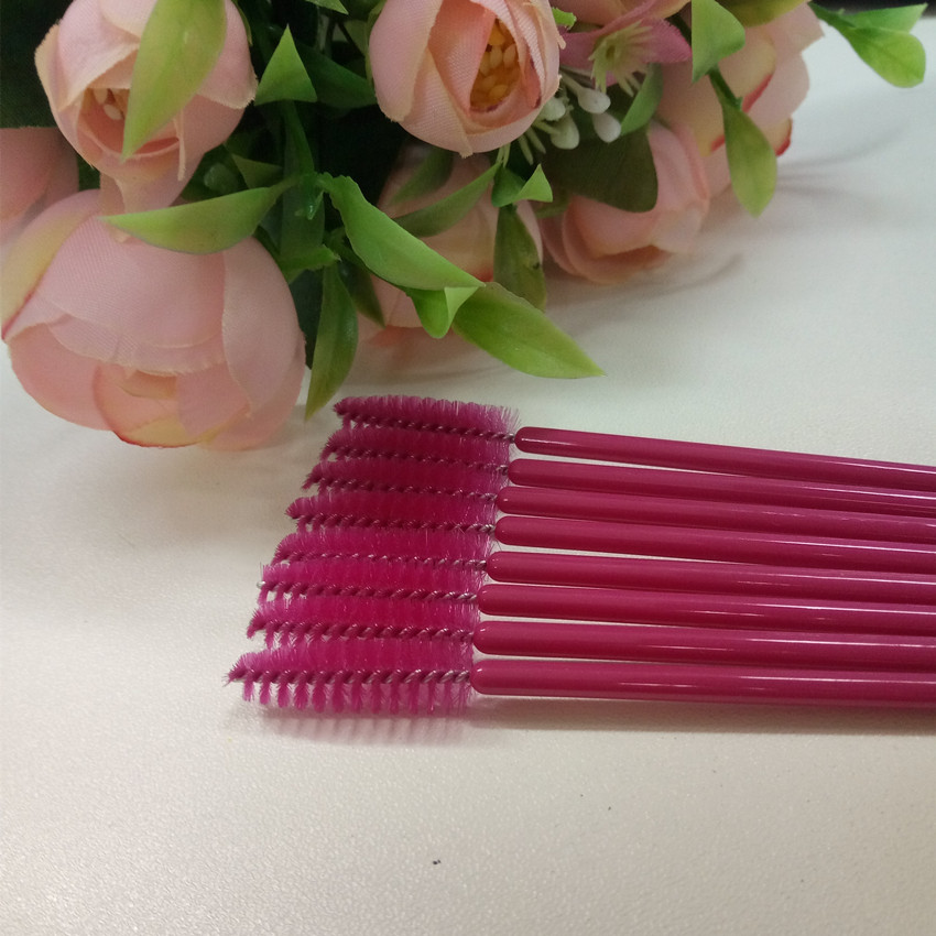 New 50PCS/Pack Disposable Makeup Brushes Eyelash Extension Tools Individual Lash Removing Tools Free shipping beauty7 100pcs pack 2 0mm disposable micro brushes individual lash removing tools swab eyelash extension makeup tools pink