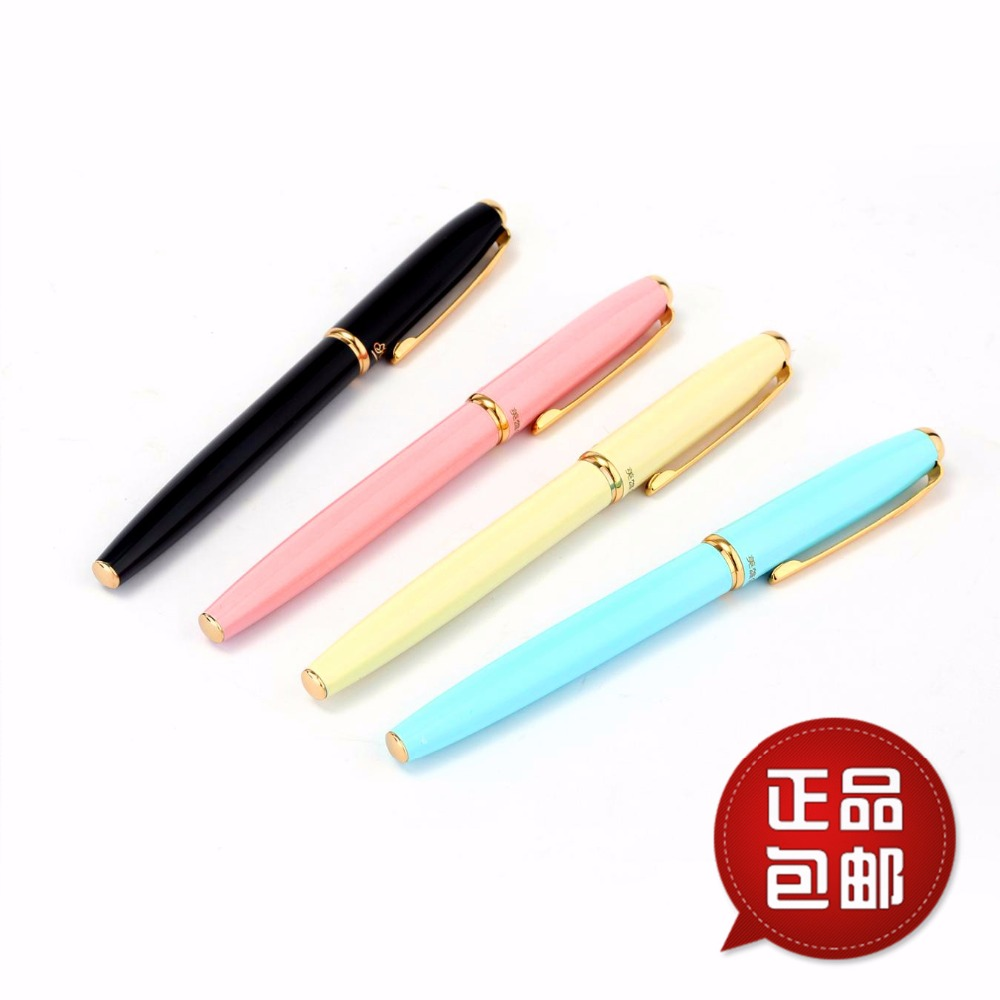 Image 5 - Hero fountain pens authentic 1079 ultrafine pen 0.38mm students Office business gift box black pink yellow blue  FREE shipping-in Fountain Pens from Office & School Supplies