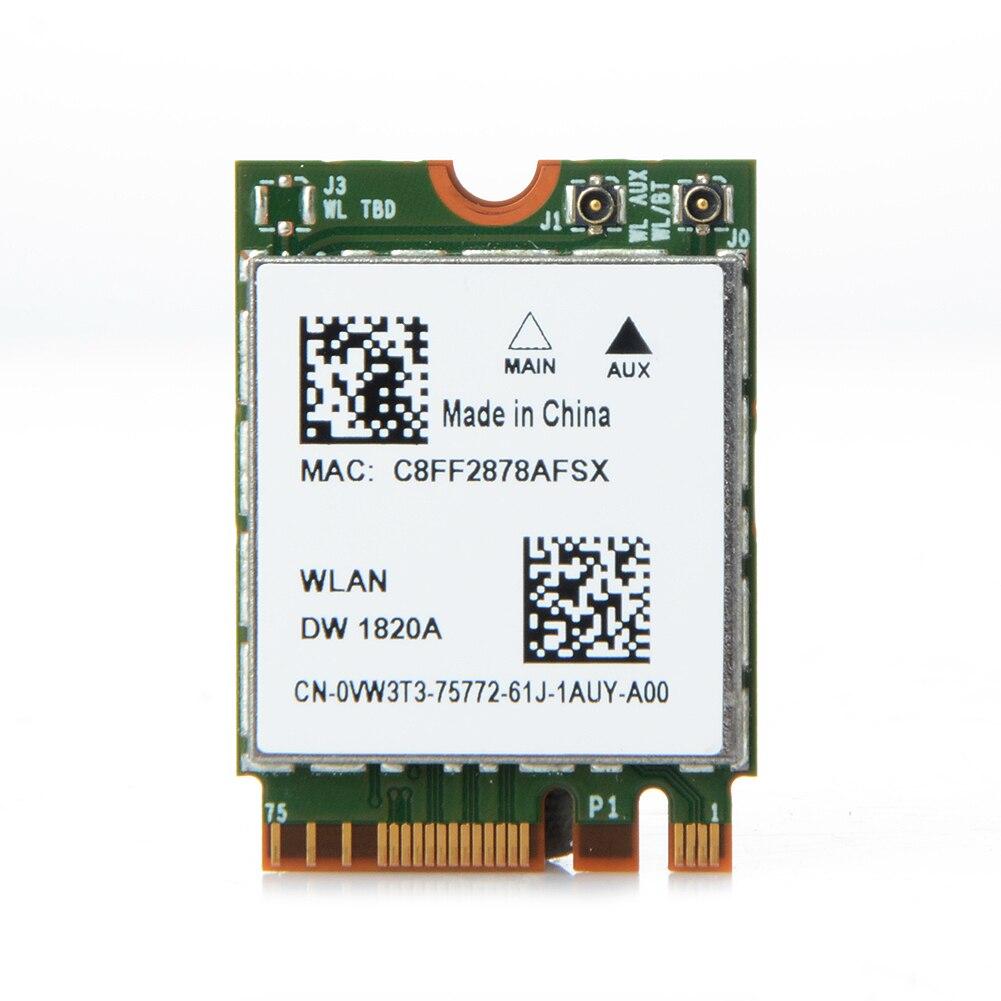 BCM94350ZAE DW1820A Wireless Card 867Mbps 802.11ac Bluetooth 4.1 867Mbps NGF M.2 Wireless Card