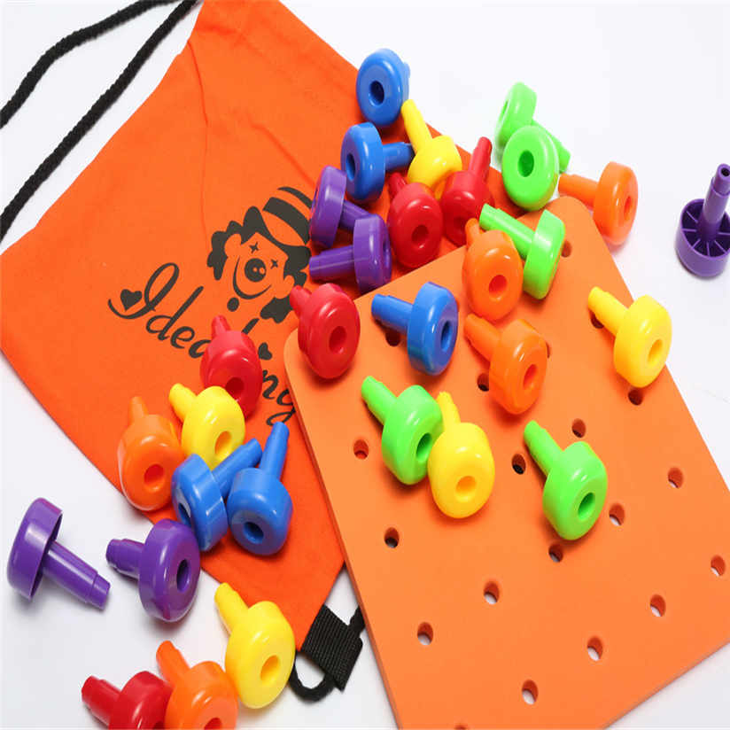 Educational Toy 30PCS Peg Board Set Montessori Therapy ...