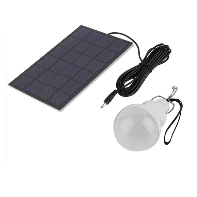 1 St Outdoor Indoor LED Zonne energie Panel Licht LED Solar Power ...