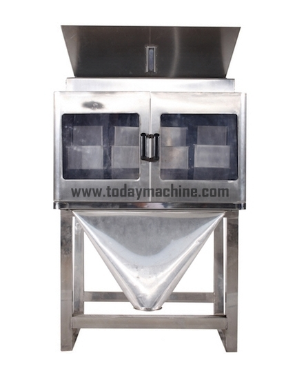 Semi-automatic Racking Machine Particle Filling Machine Price Granule Powder Weighing and Filling Machine