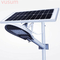 LED Street Light Solar Lamp Integrated Led Street Lights Decoration Garden Yard Gate Led Solar Waterproof