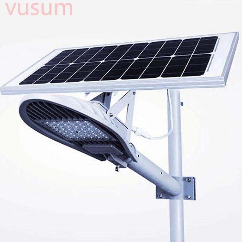 LED Street Light Solar Lamp Integrated Led Street Lights Decoration Garden Yard Gate Led Solar Waterproof Outdoor Lighting