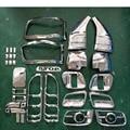 Высокое качество 33 шт ABS хромированная отделка Аксессуары покрытие для Toyota Hiace 2011 2012 2013 2014 автомобиль переоборудование экстерьера особенное