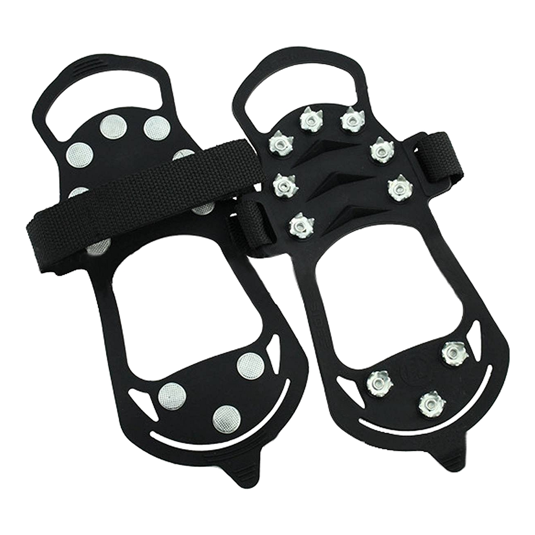 Shoe spikes Shoe claws, anti-slip crampons shoes, spikes Snow chain for the boot все цены