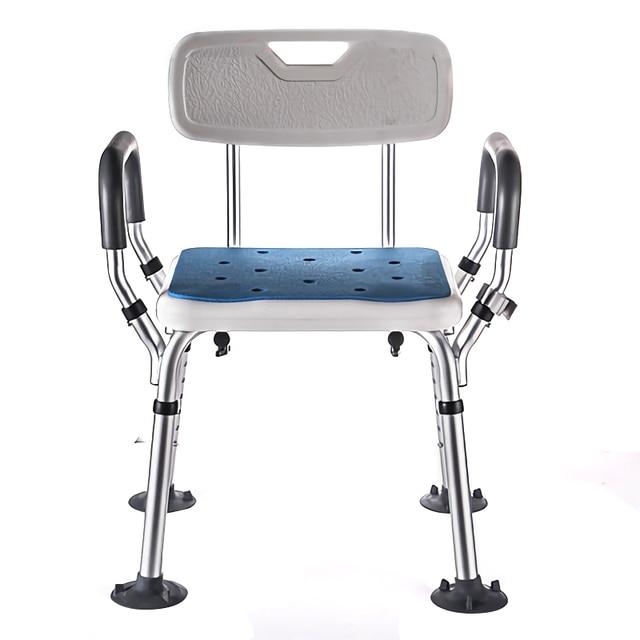 Стул для сиденья унитаза, складной портативный стул для ванной и душа для пожилых людей, стул для душа, кресло для ванной 150 кг