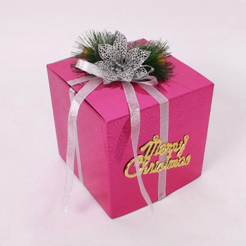Small Christmas Gift box Christmas Scene Layout Xmas Box Home ...