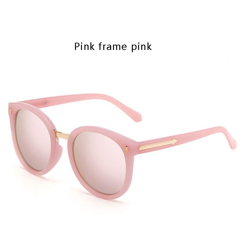 HTB1rQiESpXXXXbCXpXXq6xXFXXXg - OHMIDA Mirror Sunglasses Women's 2018 Arrow Round Brand Sunglasses Pink UV400 Vintage New Fashion