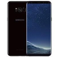 Samsung Galaxy S8 G950U Оригинальный разблокированный LTE GSM Android мобильный телефон Восьмиядерный 5,8 12MP ram 4 Гб rom 64 Гб Snapdragon 835 NFC