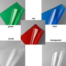 5PCS/LOT  0.3mm 20*30cm five colors ABS plastic transparent PVC sheet for architectural model making building houses 2017 fashion acrylic sheet for sample plastic sheet size 5cm 5cm 19 colors for making bags bag accessorise china factory