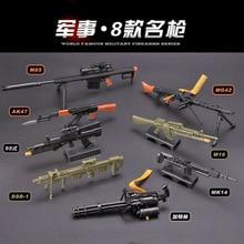 Toy Gun-Weapon Assembly-Gun Model-Puzzles Building-Bricks Barrett Action-Figure Gatling