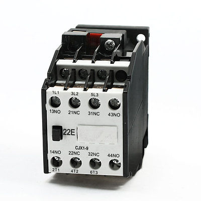 цена на CJX1-9A 380V/50Hz 460V/60Hz Coil 9A 35mm DIN Rail 3 Phase AC Contactor
